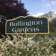 Bullington Gardens signage